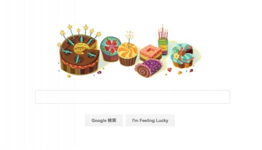 誕生日だけに経験できるサプライズ。誕生日にGoogleのロゴが...?TwitterやFacebookも