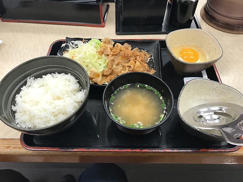 吉野家『豚スタミナ定食』