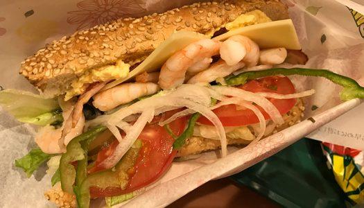 【がっかり】サブウェイの期間限定『贅沢えびサンド』食べてきた。サブウェイ史上えび最大盛りってこんなものなの?