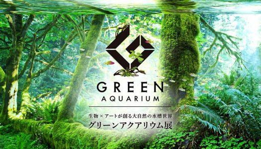 都会で体感する大自然の水槽世界「グリーンアクアリウム展」in グランツリー武蔵小杉 開催!