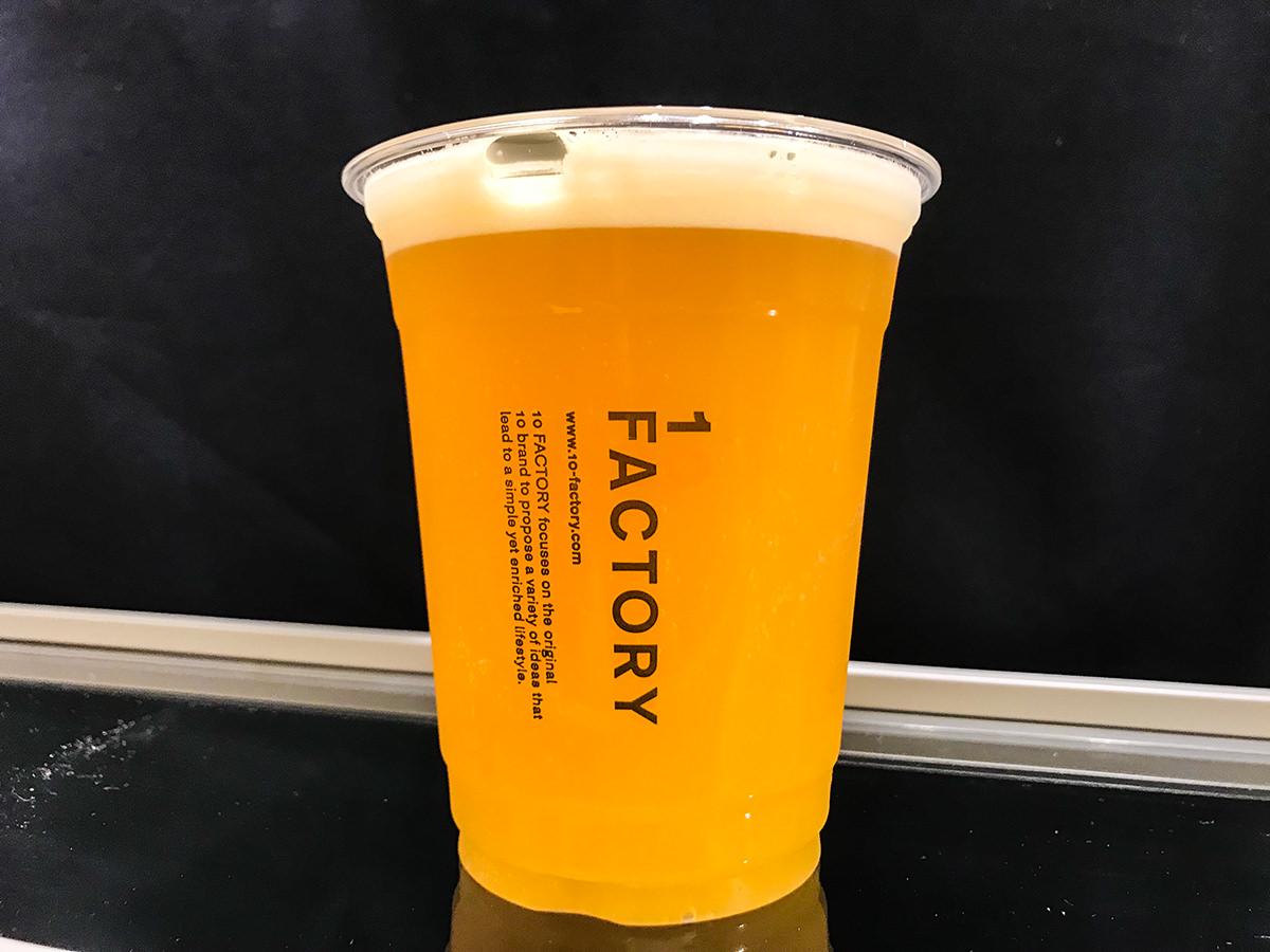 10FACTORY『みかんビール』