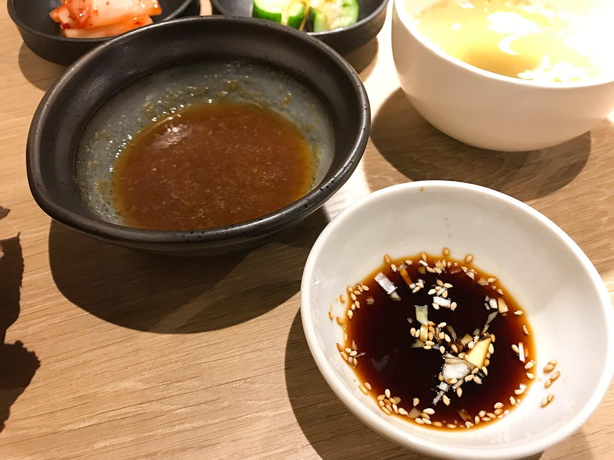 浅草焼肉 たん鬼『鬼く丼』タレ2種