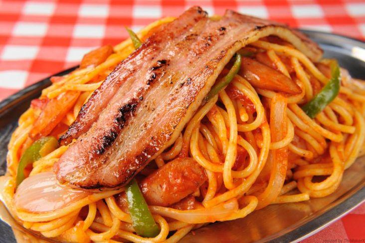 「スパゲッティーのパンチョ」ナポリタン