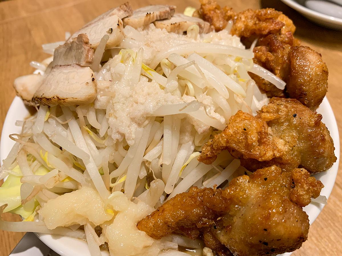 麺屋こいけ『鶏二郎 MAX』