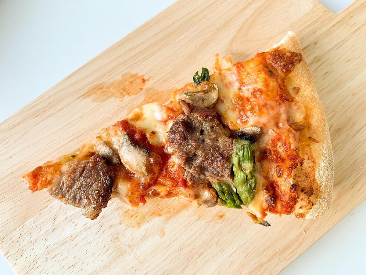 ドミノ・ピザ(スーパースター)「黒毛和牛ビーフステーキ」