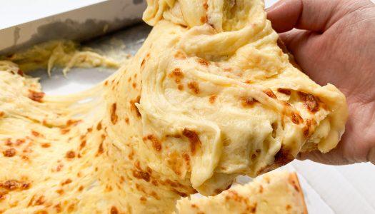 【鬼畜】ドミノ・ピザ新作『ニューヨーカー 1キロ ウルトラチーズ』食べてみた【3,832カロリー】