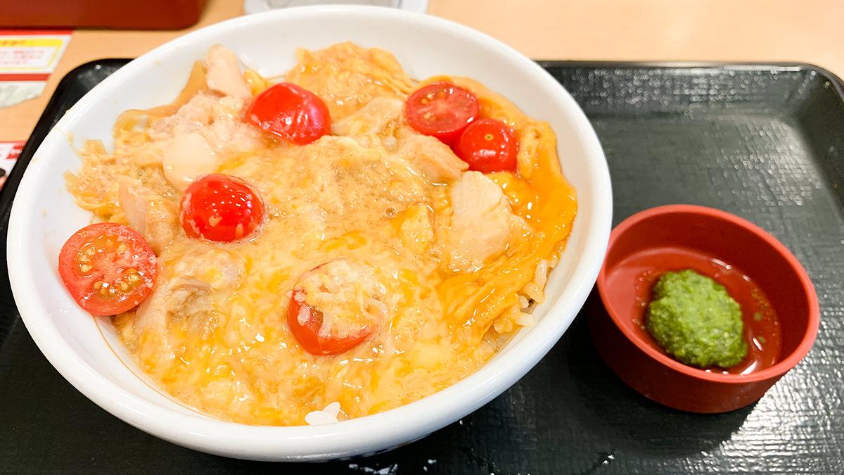 なか卯『親子丼イタリアン』