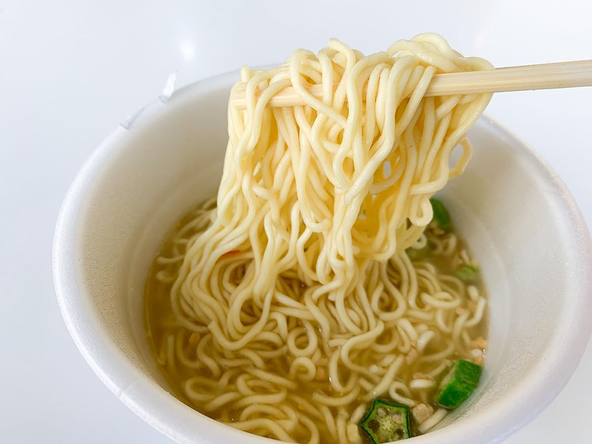 【えっ】透明なスープなのにカレー味のカップ麺『スーパーカップ1.5倍 クリアテイスト ほぼ透明な!?スパイスカレー味ラーメン』食べてみた