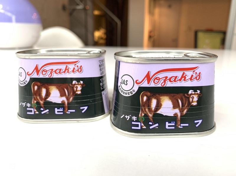 「ノザキのコンビーフ」枕缶