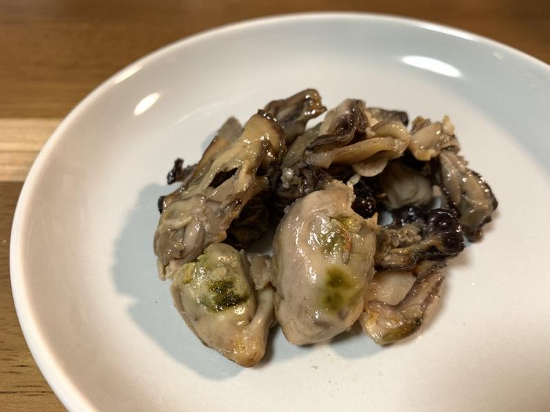 『炙り牡蠣』
