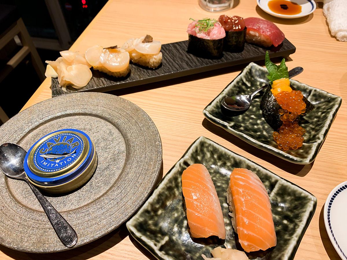 スシローの寿司 居酒屋『杉玉』の寿司