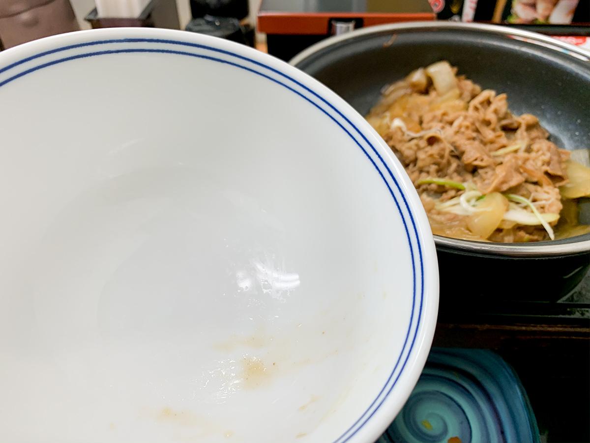 吉野家『牛の鍋焼き』