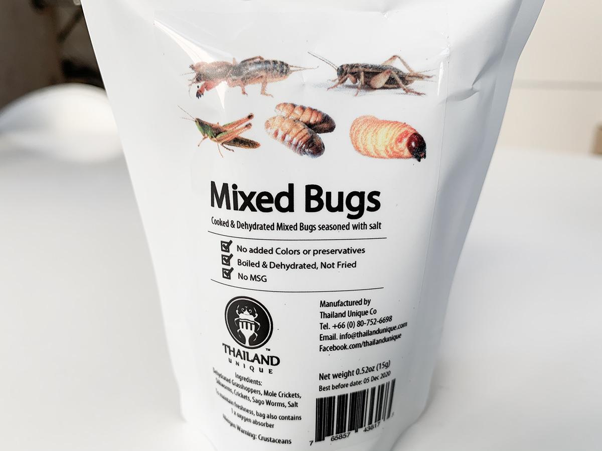 昆虫ミックス5種類