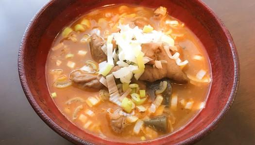 日本一有名な永井食堂のもつ煮。お取り寄せ「もつっ子」も十分にうまいから!!
