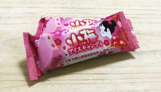 【小梅アイスキャンディ】小梅ちゃんの初恋の味がアイスになった!味の再現度高すぎ…小梅好きは即買い!