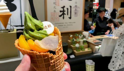 【GINZA SIX】辻利 銀座店の夏季限定メニュー『辻利ソフト 夏のパルフェ』食べてきた!濃厚な抹茶アイスを涼しく食べられる、夏らしい一品