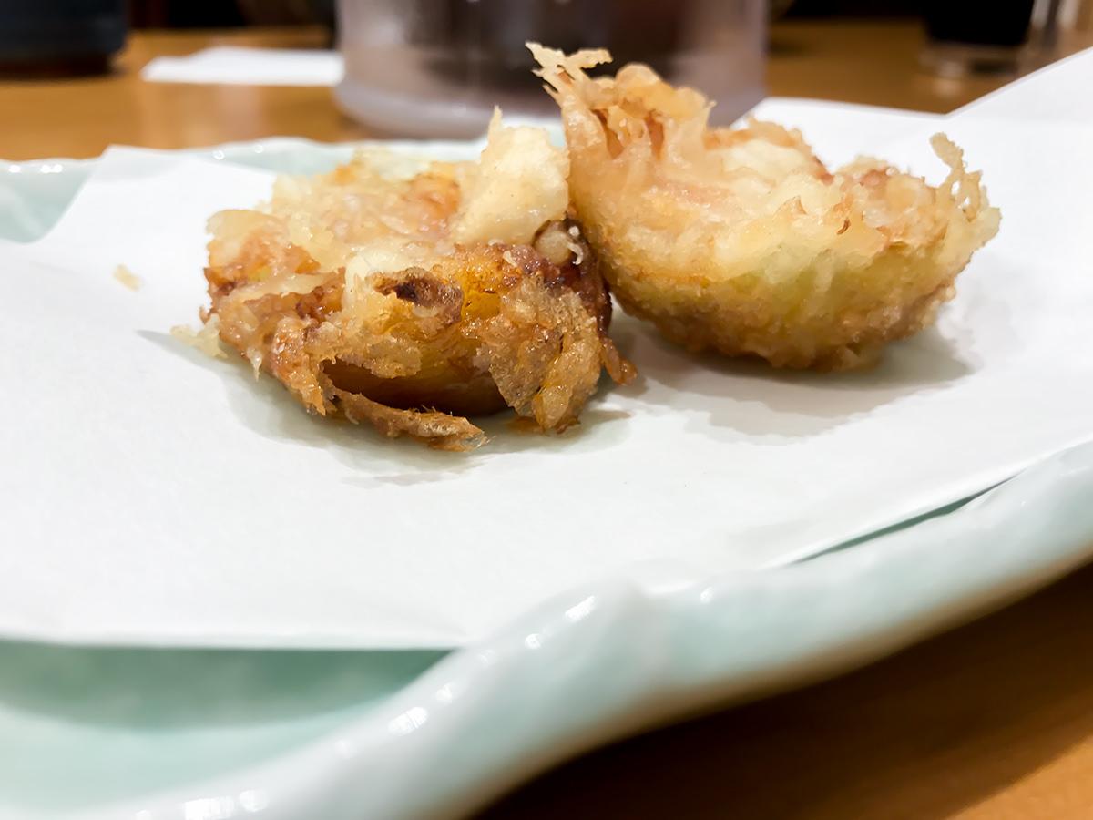 てんや『福岡県産 いちじくの天ぷら』