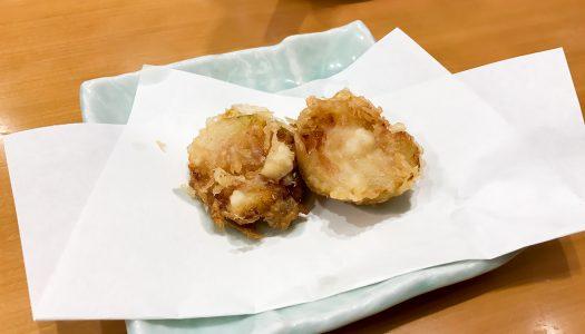 天丼てんやの『いちじくの天ぷら』を食べたけど、ほぼ「茄子の天ぷら」だった
