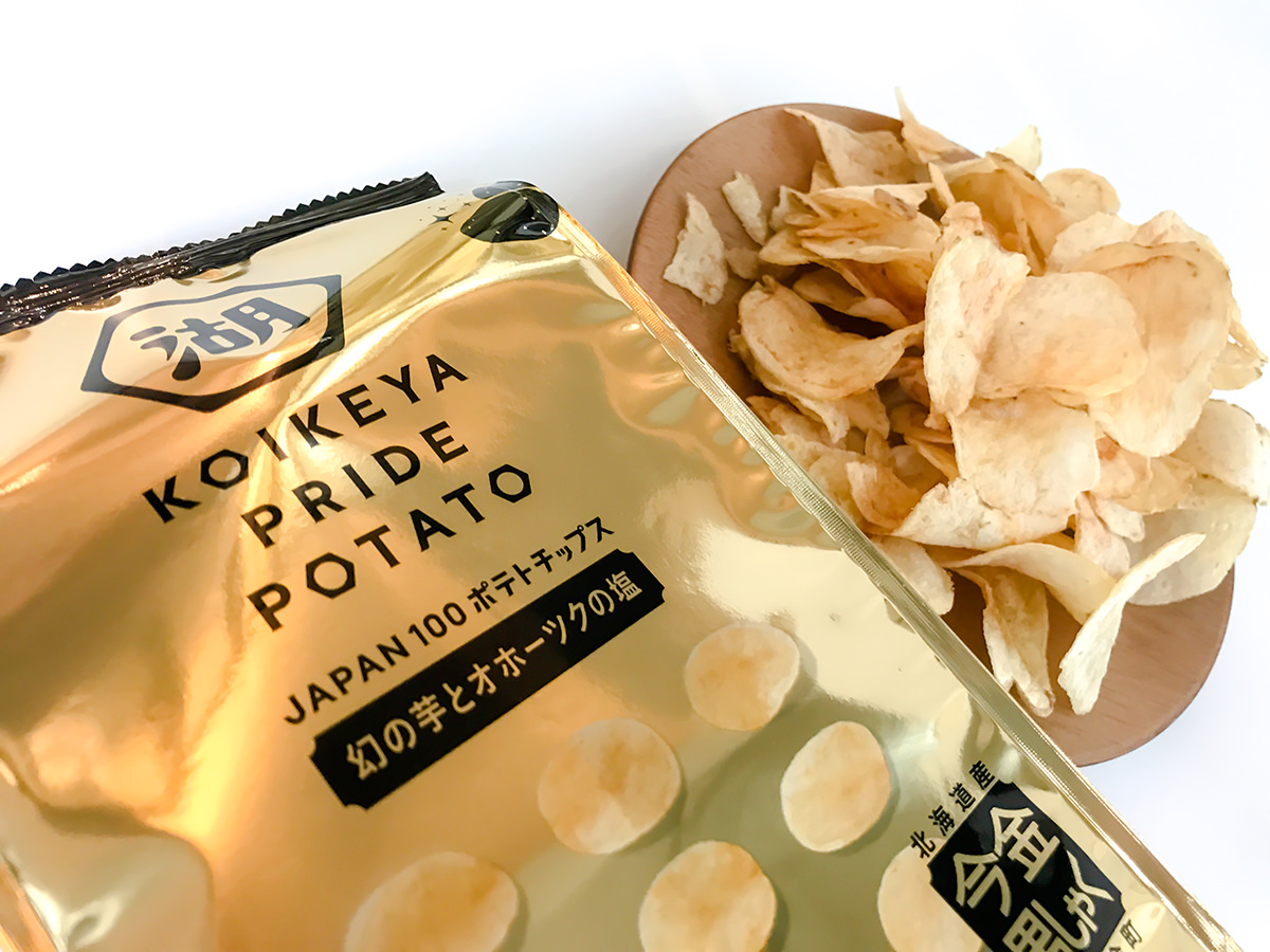 KOIKEYA PRIDE POTATO 今金男しゃく 幻の芋とオホーツクの塩