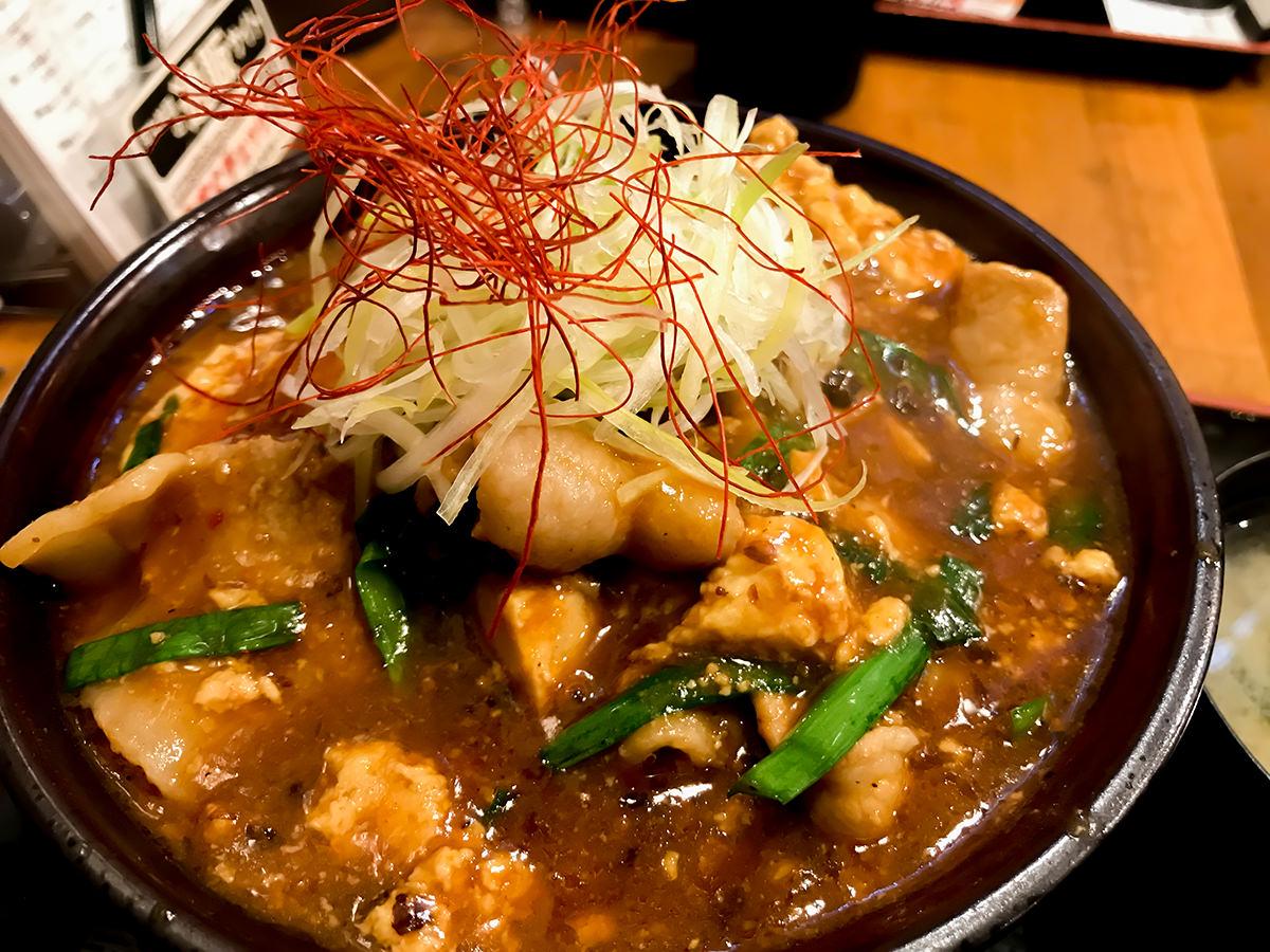 """""""厚熱""""すたみなマーボー丼"""