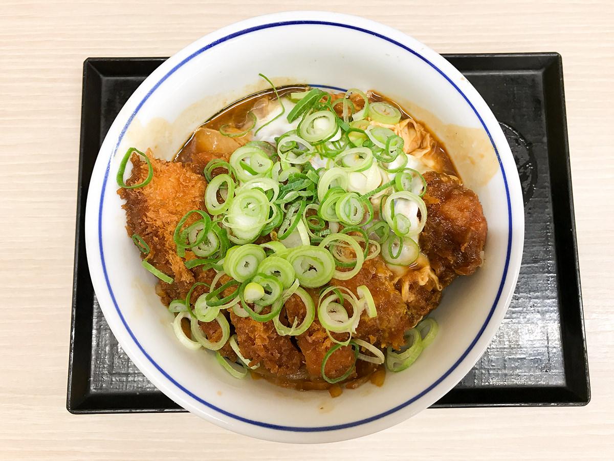 『青ねぎ味噌カツ丼』