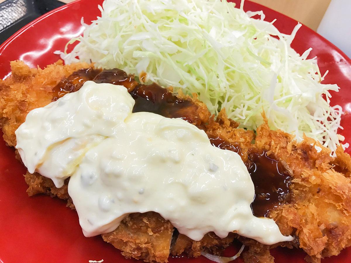 『タルタルチキンカツ定食』