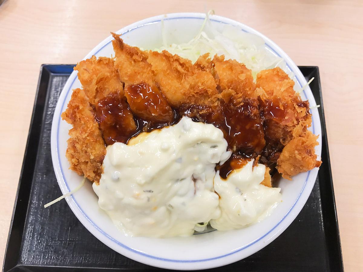 『タルタルチキンカツ丼』