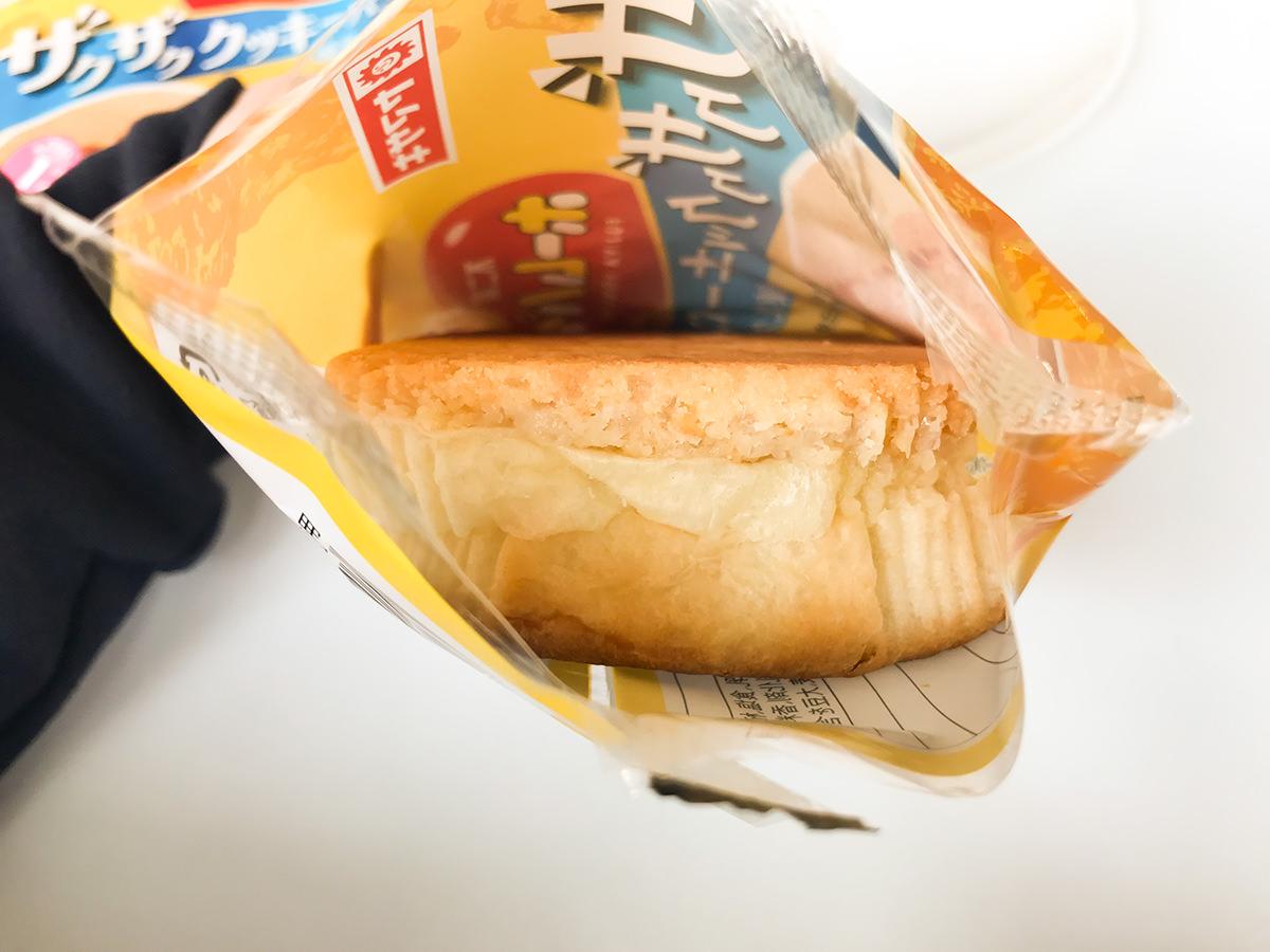 ザクザククッキーパン(練乳クリーム)ホームパイ使用