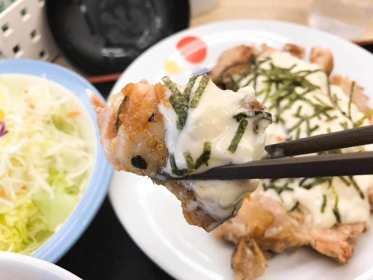 松屋『和風タルタルチキン定食』