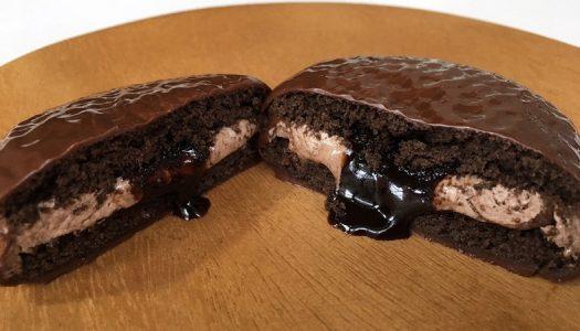 レンジでチン『くちどけチョコパイ とろ~りフォンダンショコラ』が美味しすぎました。