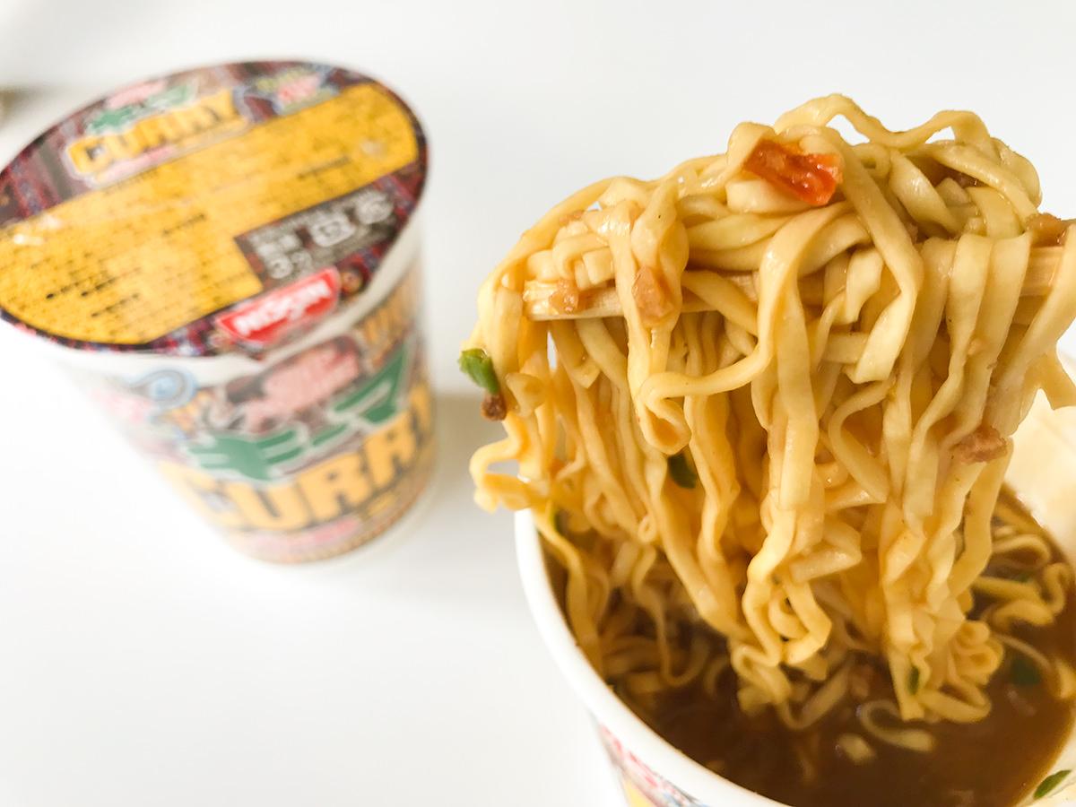 『カップヌードル nano謎肉キーマカレー』