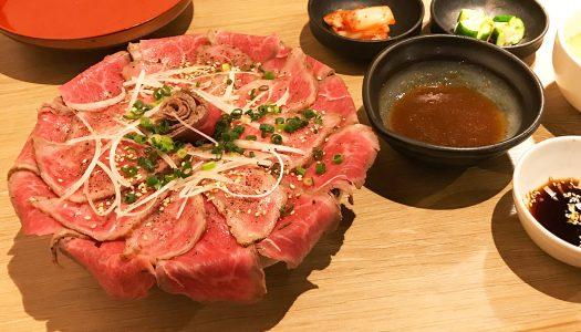 浅草の焼肉店「たん鬼」のランチ限定メニュー『鬼く丼』が超贅沢!希少肉の花が咲くフォトジェニックで美味な一品