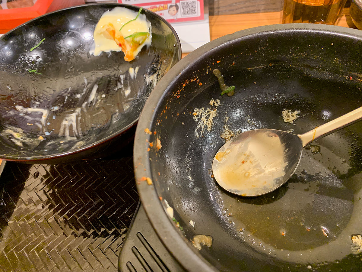 『韓丼 渋谷店』完食