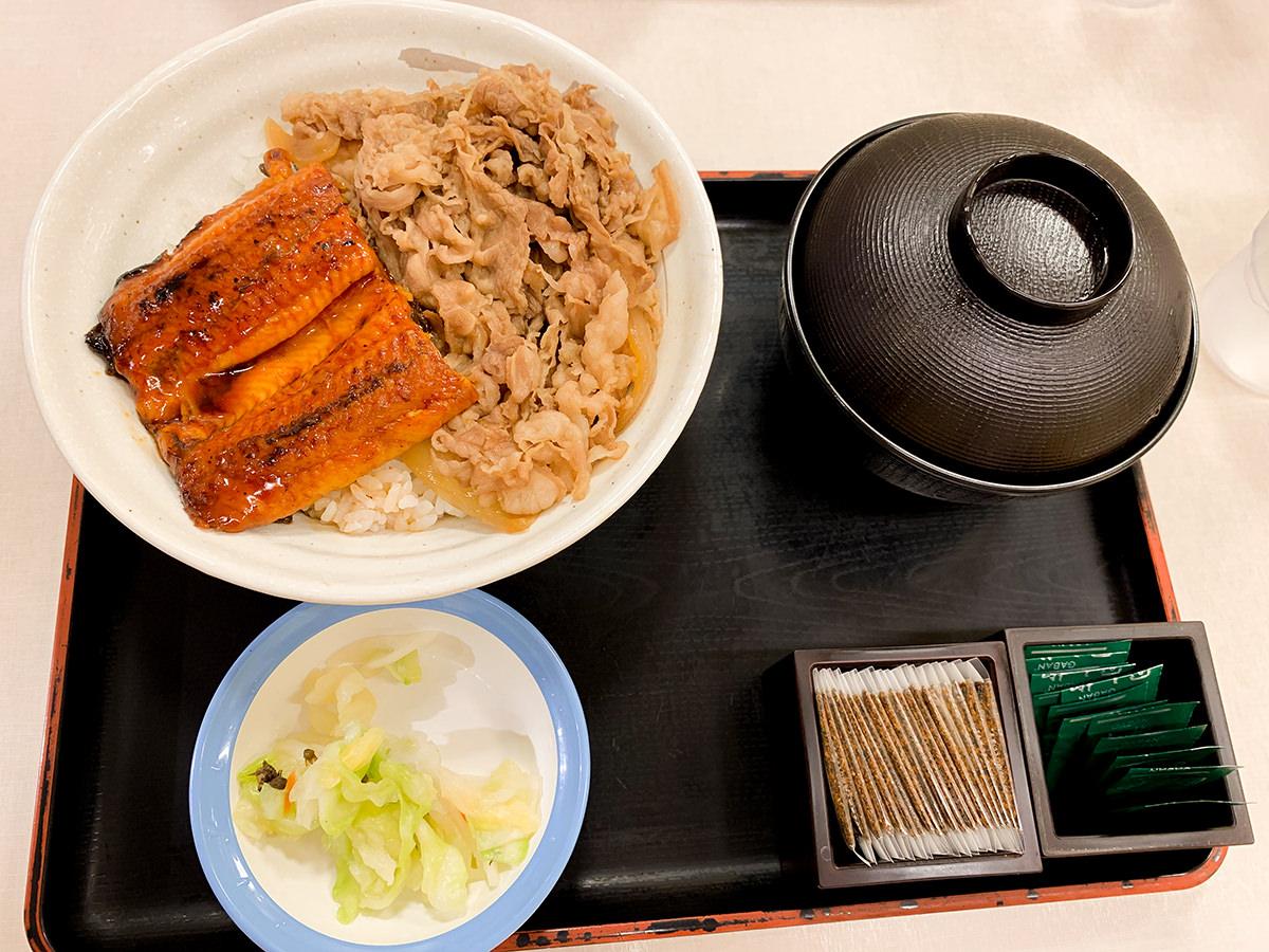 松屋『うな丼コンボ』