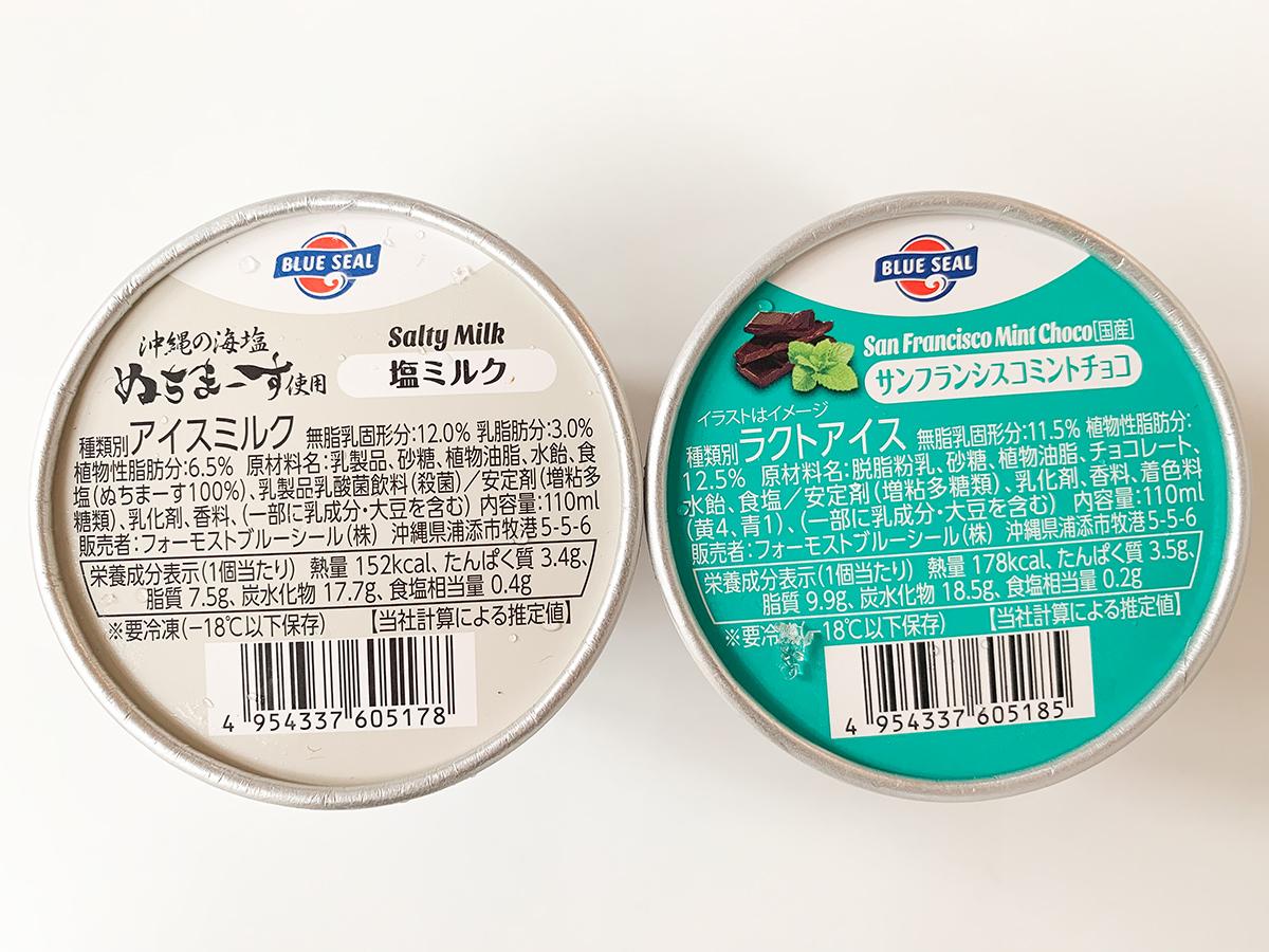 セブンイレブンの沖縄出店記念商品「ブルーシールアイスクリーム」