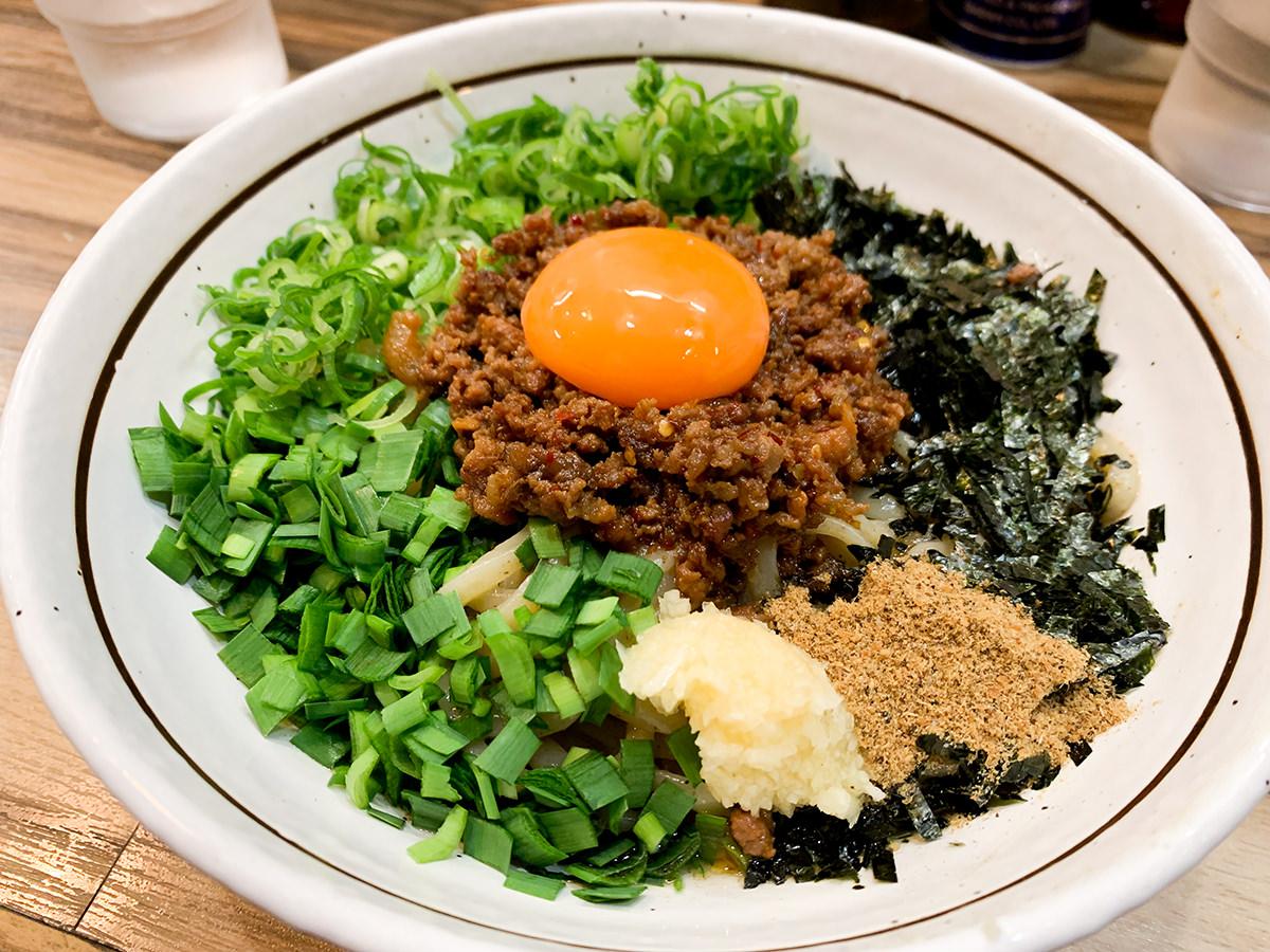 『麺屋はるか 秋葉原店』台湾まぜそば