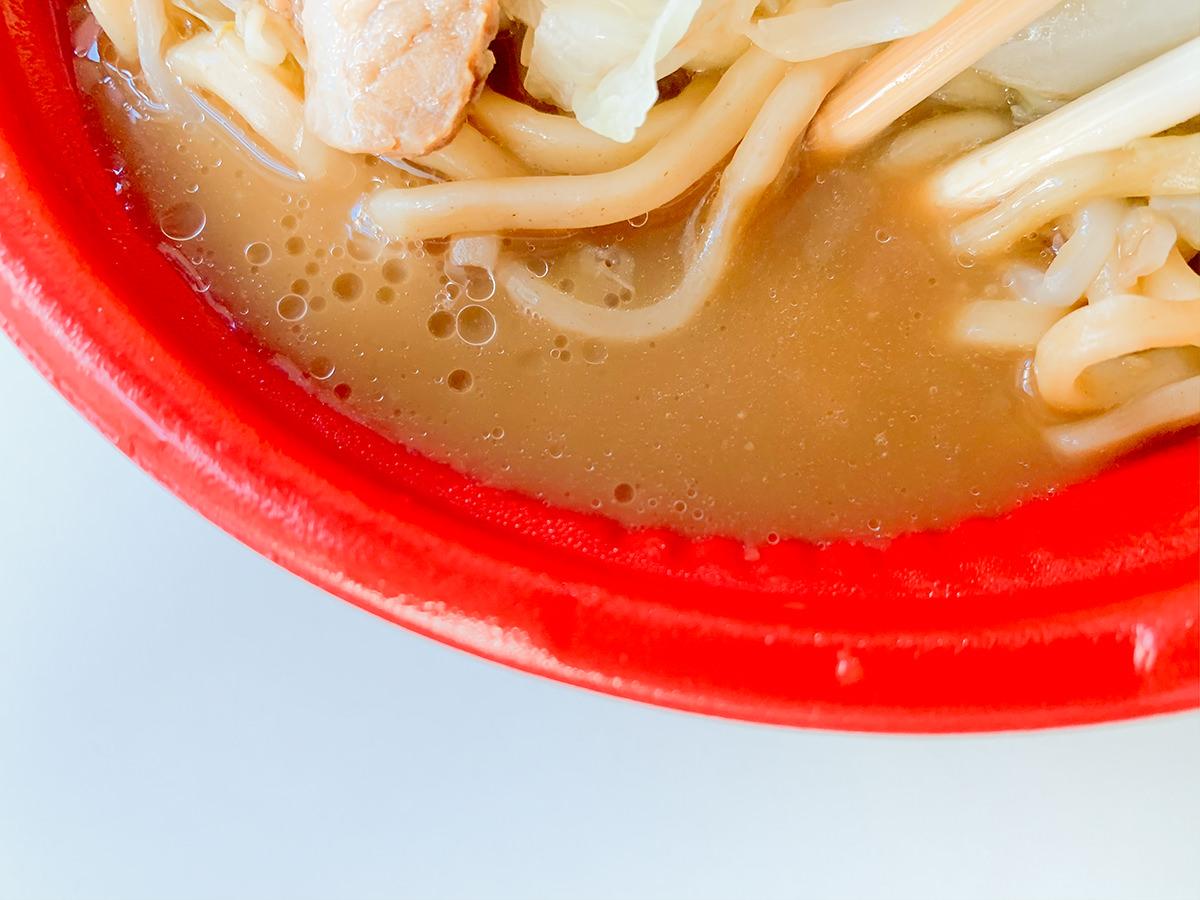 ファミリーマート、二郎系ラーメン『大盛にんにく 醤油ラーメン』