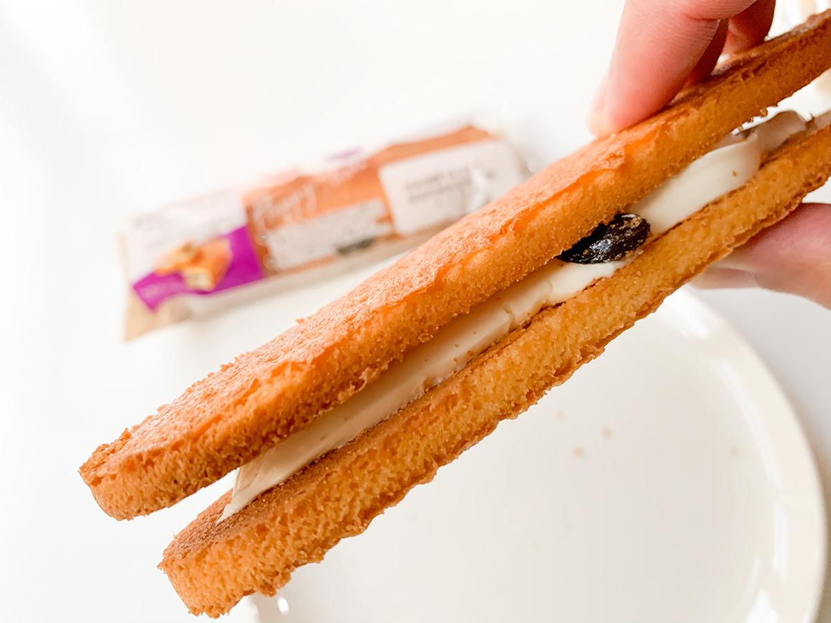 香ばしいクッキーのクリームサンド実食