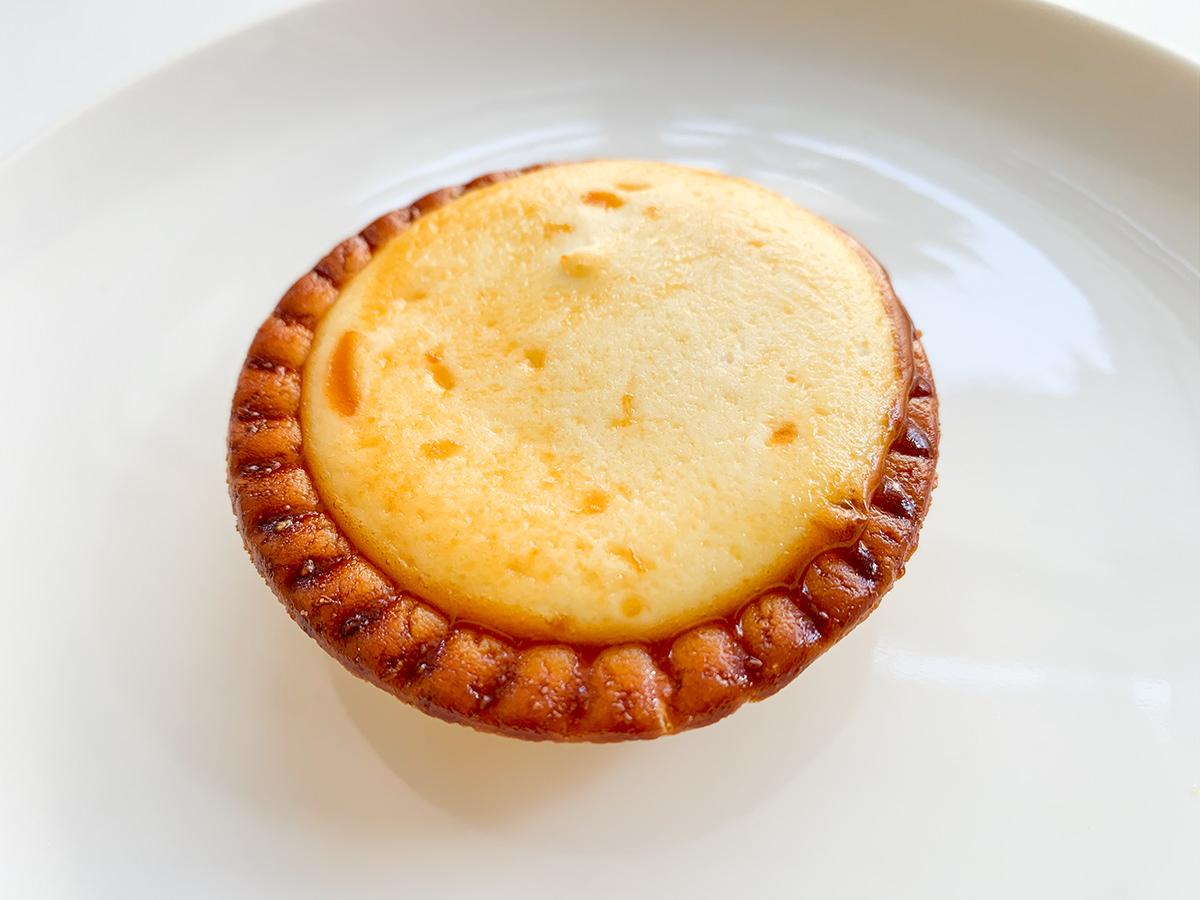焼きチーズタルト開封
