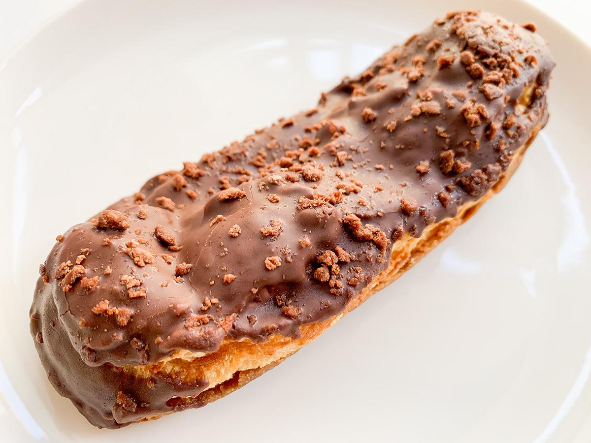 サクッと食感のチョコスティックドーナツ開封