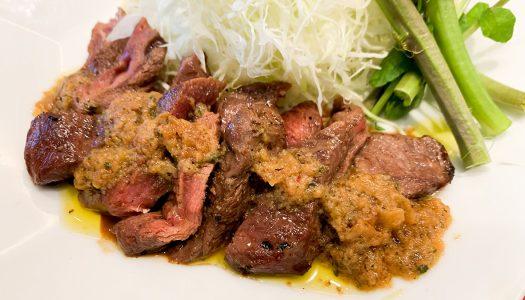 【大戸屋】『ミスジステーキ定食』食べてみた!『ミスジステーキサラダ丼』も同時発売