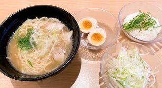 かっぱ寿司『ラーメン海鳴(うなり)監修 魚介とんこつラーメン』