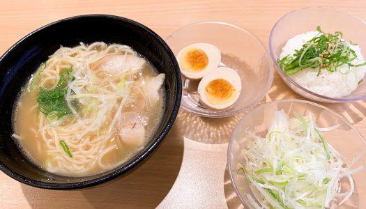 【海鳴】かっぱ寿司に『ラーメン海鳴(うなり)監修 魚介とんこつラーメン』。390円でこれだけのものが食べられるとは…